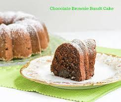 chocolate brownie bundt cake desserts required