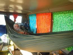 hammock living the ultimate simple van conversion cheap rv