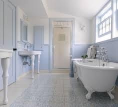 clawfoot tub bathroom design bathroom design light blue farmhouse bathroom ideas design with