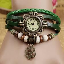 leather leaf bracelet images Leaf watch leaf leather watch green bracelet watch leather jpg