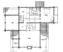 log home floor plan new frontier