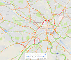 Google Maps Traffic Cartography What Is The Style Of Mapping Used By Google Traffic