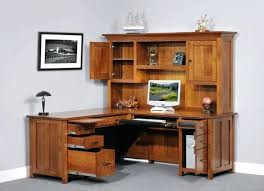Black L Shaped Desk With Hutch Office Hutch Desk Neodaq Info
