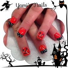 cute halloween nails halloween nail art shellac nails pinterest