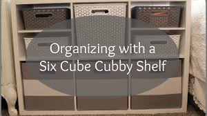 Target Threshold Organizing With Target Threshold Six Cube Cubby Youtube