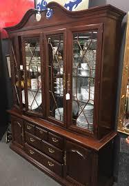 mahogany china cabinet furniture pfohl s furniture den buffalo ny consignment furniture home