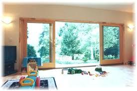 Sliding Door Exterior Patio Large Sliding Glass Windows Patio Door Ratings 6 Sliding