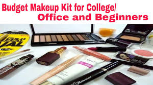 Colleges For Makeup Artists Affordable Makeup Kit For College Office And Beginner Youtube