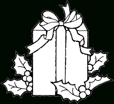 Christmas Gifts Coloring Pages Resume Collection