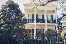 new orleans style homes new orleans garden district holiday tour of homes best idea garden