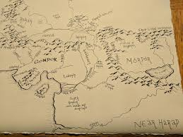 Map Middle Earth Homemade Middle Earth Map Album On Imgur