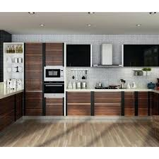 modern kitchen design kerala residential modern kitchen