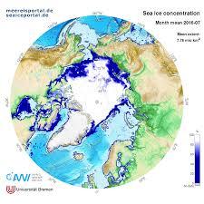 Iup Map Meereisportal De Data Area