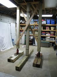 fashionable idea basement floor jacks vestil fjb basements ideas