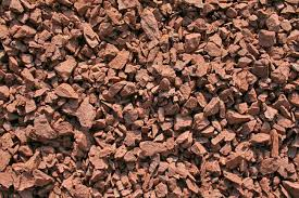 red shale decorative crushed stone 3 8