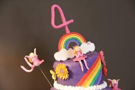 Hard Sugar Cake Decorations Rainbow Fairy Cake Cakecentral Com