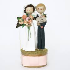 in cake toppers custom wedding cake toppers by the small object