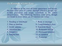 letter with attention line and subject line business communication and report writing boa