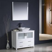 small vessel sinks sleek modern bathroom floating vanity with