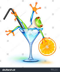 blue martini clip art tree frog blue lagoon cocktail stock vector 113656480 shutterstock