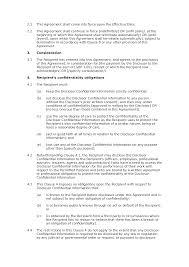 non disclosure agreement unilateral premium docular