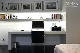 bureau et blanc bureau noir et blanc bureau informatique kelvin 3 tiroirs mdf noir