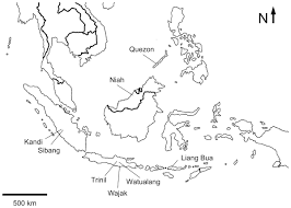 Southeastern Asia Map by The Avian Fossil Record In Insular Southeast Asia And Its