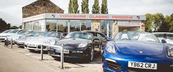 porsche home garage used porsche cars in leeds detailing part exchange and pick up