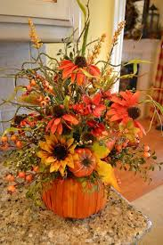 adorable for the home pumpkin arrangements