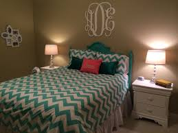 Hockey Teen Bedroom Ideas My New Teal And Coral Room Pottery Barn Teen Chevron Duvet With
