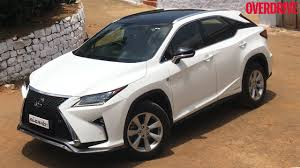 lexus rx 450h consumer reviews lexus rx450h first drive review india youtube