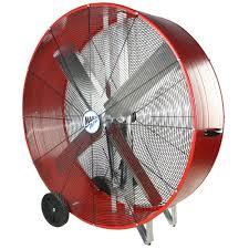 maxxair heavy duty 14 exhaust fan maxxair 48 in 2 speed drum fan bf48bdred the home depot