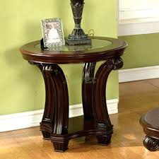 small wood end table dark wood end tables round living room end tables round end table