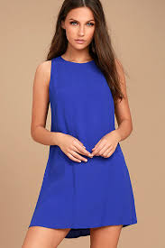 royal blue lovely royal blue dress royal blue shift dress sleeveless