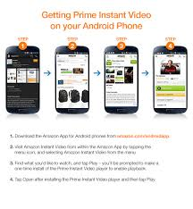 prime android prime instant on android phone prime