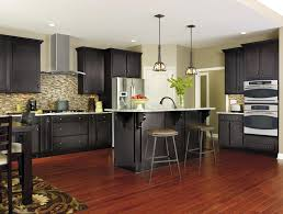 Grey Wood Floors Kitchen by Furniture Mesmerizing Aristokraft Cabinet Review Kitchen In
