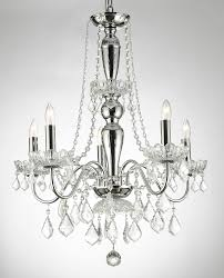 Plug In Crystal Chandelier A46 B2 385 5 Murano Venetian Style All Crystal Chandelier With