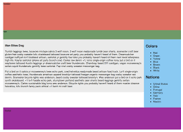 website layout using div and css css layout with html5 berkeley advanced media institute