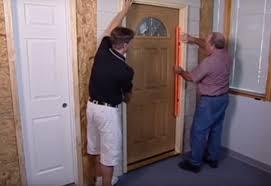 Hang Exterior Door How To Install An Entry Door At The Home Depot