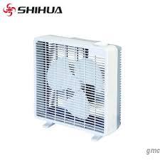 high velocity box fan shihua high velocity oscillating small white personal box fan for