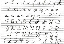 cursive alphabet worksheets free worksheets library download and
