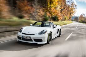 modified porsche boxster techart 718 boxster s review what does 394bhp in a porsche