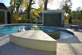 custom features vivion pools spas custom built underground sleek and modern pool design