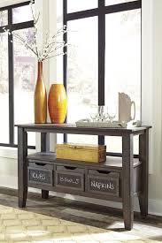 dresbar dining room table dresbar grayish brown dining room server d485 60 servers
