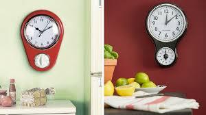 horloge murale cuisine je veux une horloge dans ma cuisine