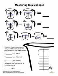 cooking measurements worksheet free worksheets library download