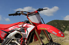motocross matchup pro red alert chapmoto u0027s almost race ready 2017 crf 450r chaparral