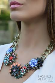 coloured statement necklace images Fashion addicted statement necklaces fashion addicted jpg