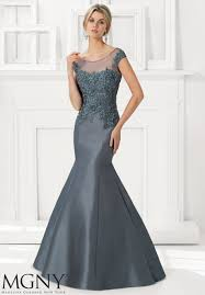 Evening Dress Larissa Satin Evening Gown Style 71102 Morilee