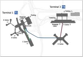 Miami International Airport Terminal Map by Mccarran International Airport Airport Parking Guides